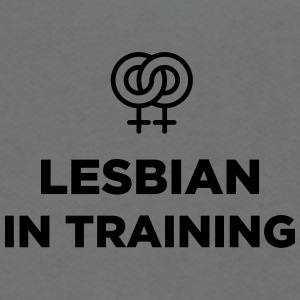 Lesbian in training - Unisex Fleece Zip Hoodie by American Apparel