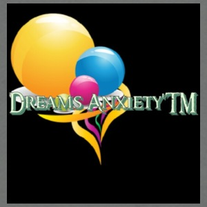 Dreams AnxietyTM logo - Unisex Fleece Zip Hoodie by American Apparel