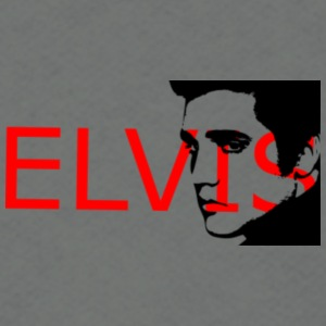 elvis presley - Unisex Fleece Zip Hoodie by American Apparel