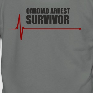 sudden cardiac arrest survivor - Unisex Fleece Zip Hoodie by American Apparel