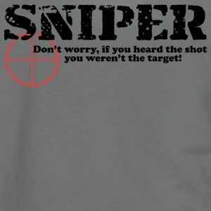 Sniper Hear - Unisex Fleece Zip Hoodie by American Apparel