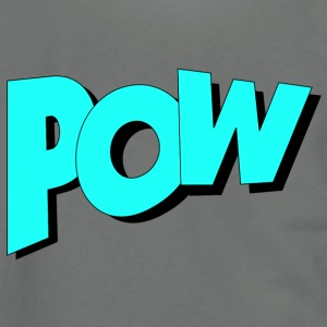 Pow in Comic Style - Unisex Fleece Zip Hoodie by American Apparel
