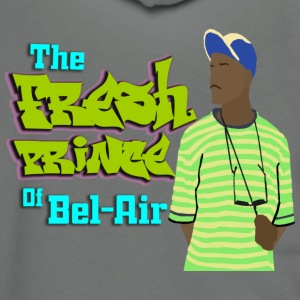 The Fresh Prince of Bel Air - Unisex Fleece Zip Hoodie by American Apparel