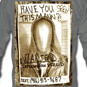 Wanted Poster - Unisex Fleece Zip Hoodie by American Apparel