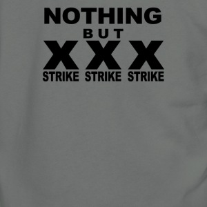 NOTHING BUT STRIKES - Unisex Fleece Zip Hoodie by American Apparel