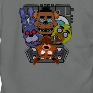Five Nights at Freddy s - Unisex Fleece Zip Hoodie by American Apparel