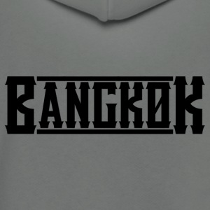 Bangkok - Unisex Fleece Zip Hoodie by American Apparel