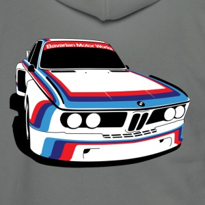 BMW M5 E9 - Unisex Fleece Zip Hoodie by American Apparel