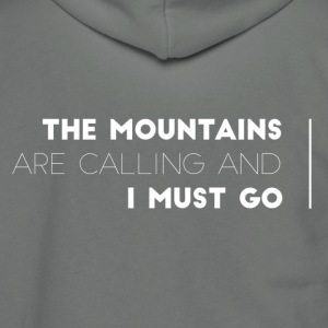 MOUNTAINSCALLING - Unisex Fleece Zip Hoodie by American Apparel
