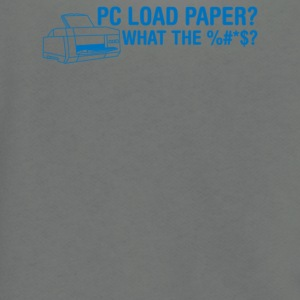 Pc Load Paper - Unisex Fleece Zip Hoodie by American Apparel
