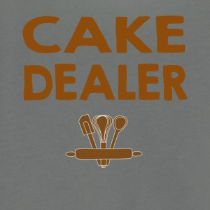 CAKE DEALER - Unisex Fleece Zip Hoodie by American Apparel