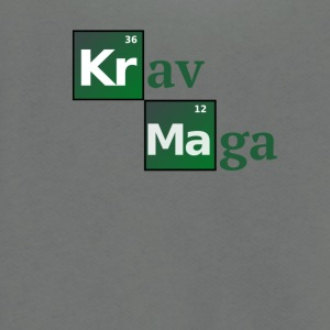 Krav Maga Periodic Table of the elements - Unisex Fleece Zip Hoodie by American Apparel