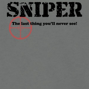 Sniper See - Unisex Fleece Zip Hoodie by American Apparel