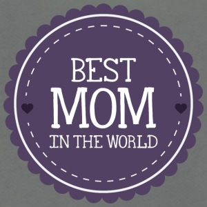 best_mom_in_the_world - Unisex Fleece Zip Hoodie by American Apparel