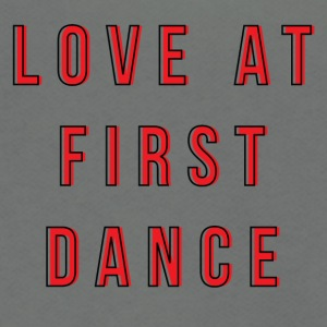 LOVE AT FIRST DANCE - Unisex Fleece Zip Hoodie by American Apparel