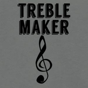Treble Maker - Unisex Fleece Zip Hoodie by American Apparel