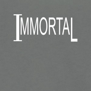 Immortal - Unisex Fleece Zip Hoodie by American Apparel