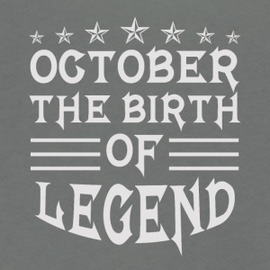 The Birth of Legend - Unisex Fleece Zip Hoodie by American Apparel