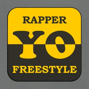 Rapper yo freestyle - Unisex Fleece Zip Hoodie by American Apparel