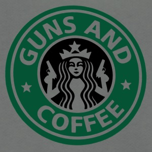 guns and coffee RC - Unisex Fleece Zip Hoodie by American Apparel