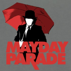 MAYDAY PARADE - Unisex Fleece Zip Hoodie by American Apparel