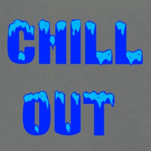 chill out - Unisex Fleece Zip Hoodie by American Apparel