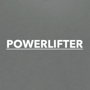 POWERLIFTERLOGO3 - Unisex Fleece Zip Hoodie by American Apparel