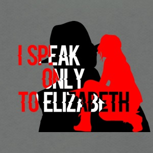 I speak only to Elizabeth : the blacklist tees - Unisex Fleece Zip Hoodie by American Apparel