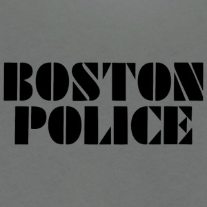 boston police - Unisex Fleece Zip Hoodie by American Apparel