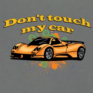 Don-t_touch_my_car - Unisex Fleece Zip Hoodie by American Apparel