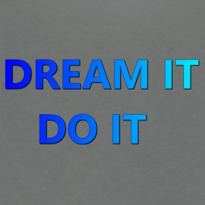 DREAM IT DO IT - Unisex Fleece Zip Hoodie by American Apparel