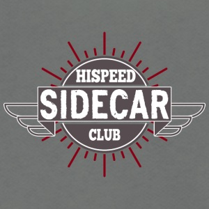 Sidecar Hispeed Club - Unisex Fleece Zip Hoodie by American Apparel