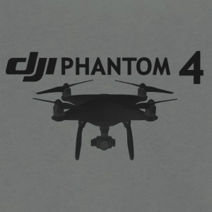dji phantom 4 - Unisex Fleece Zip Hoodie by American Apparel