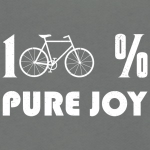 100 % Pure Joy - Unisex Fleece Zip Hoodie by American Apparel