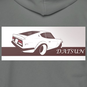 Nissan 240 Datsun - Unisex Fleece Zip Hoodie by American Apparel