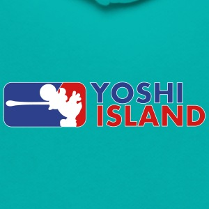 MAJOR YOSHI ISLAND - Unisex Fleece Zip Hoodie by American Apparel