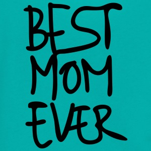 Best Mom Ever Hand Writing Special Mother's Day 1c - Unisex Fleece Zip Hoodie by American Apparel
