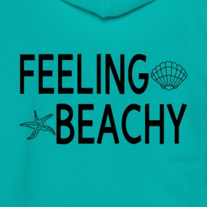 Feeling Beachy - Unisex Fleece Zip Hoodie by American Apparel