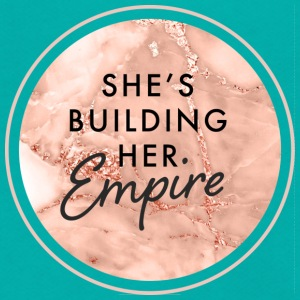 She's Building Her Empire - Unisex Fleece Zip Hoodie by American Apparel