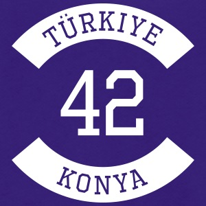 turkiye 42 - Unisex Fleece Zip Hoodie by American Apparel
