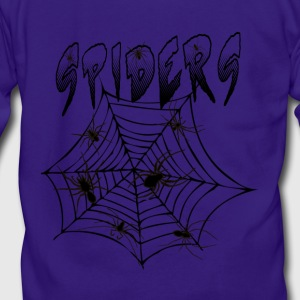 Spiders - Unisex Fleece Zip Hoodie by American Apparel