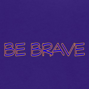 brave - Unisex Fleece Zip Hoodie by American Apparel
