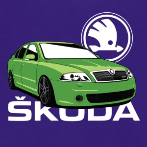Skoda octavia green stance - Unisex Fleece Zip Hoodie by American Apparel