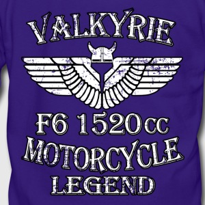 Valkyrie Motorcycle Legend F6 1520cc - Unisex Fleece Zip Hoodie by American Apparel