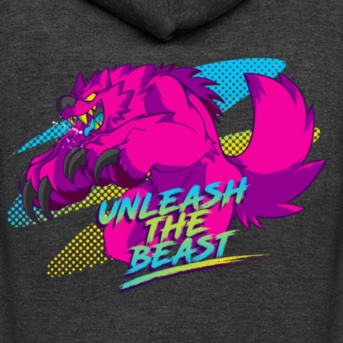 - Unleash the Beast - - Unisex Fleece Zip Hoodie