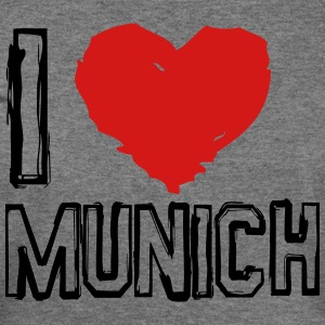 I LOVE MUNICH - Women's Wideneck Sweatshirt