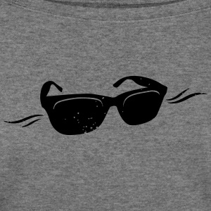 Sunglasses - Vintage - Women's Wideneck Sweatshirt