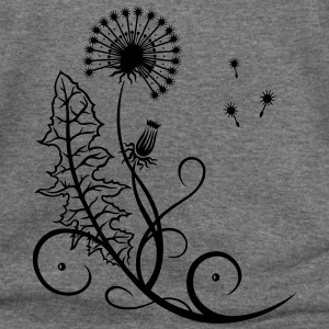 Meadow, dandelion, summer and spring. - Women's Wideneck Sweatshirt