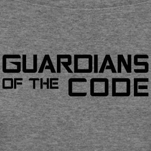 Guardians of the code - Women's Wideneck Sweatshirt