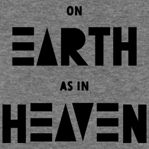 On earth as in heaven - Women's Wideneck Sweatshirt